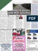 New M11 Junction