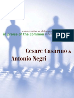 Cesare Casarino, Antonio Negri-In Praise of the Common a Conversation on Philosophy and Politics-Univ of Minnesota Press(2008)