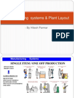 Manufacturing Systems & Plant Layout