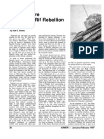 Tank Warfare During the Rif Rebellion
