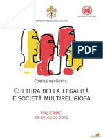 Palermo Cultura Della Legalita e Societa Multireligiosa