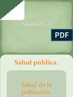 Salud pública I