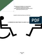 A_ORDEM_DO_DISCURSO_NA_EDUCAÇAO_ESPECIAL