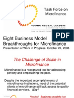 Mfi - Eight Business Model