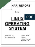 Linux Operatig System
