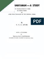 Kamba.ramayanam a.study Text
