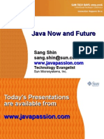 Java Now and Future