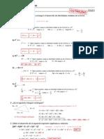 Refuerzo - Álgebra - Ejercicios (III) Soluciones-