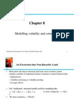 Modelarea volatilitatii