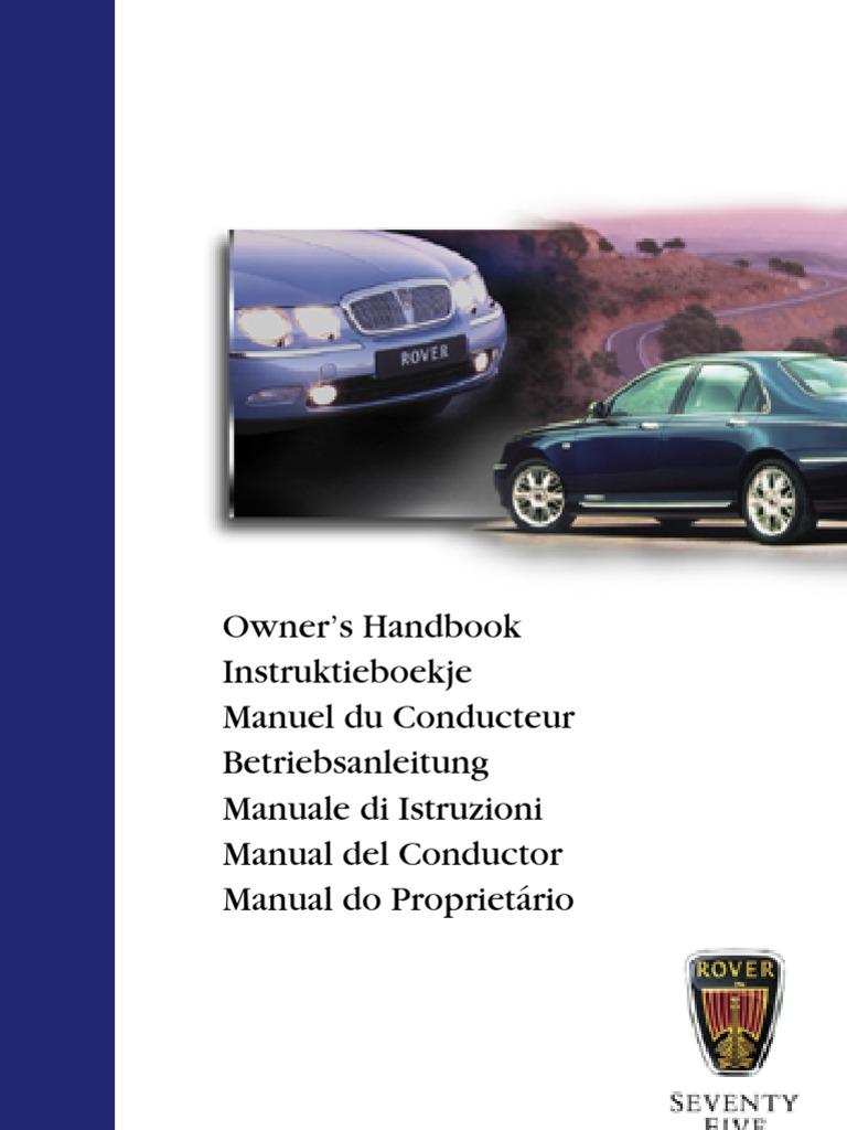 Rover 75 2 0 Repair And Service Manual