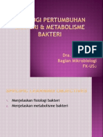 K3-Fisiologi & Metabolisme Bakteri