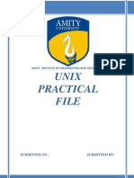 Unix practical  File