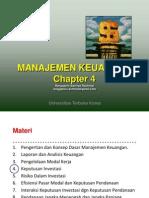 Manajemen Keuangan - Chapter 4