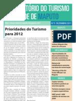 Boletim OTCM n.º 3 - Dezembro 2011