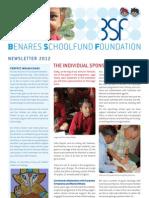 Benares School Newsletter 2012