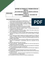 Procedimiento Guia Vaciado Concreto Construccion Civil