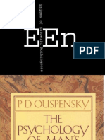 Ouspensky - The Psychology of Mans Possible Evolution