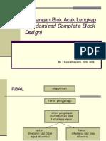 Rancangan Blok Acak Lengkap