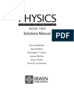 Physics Concepts and Connections, Book Two - Solutions Manual[1]
