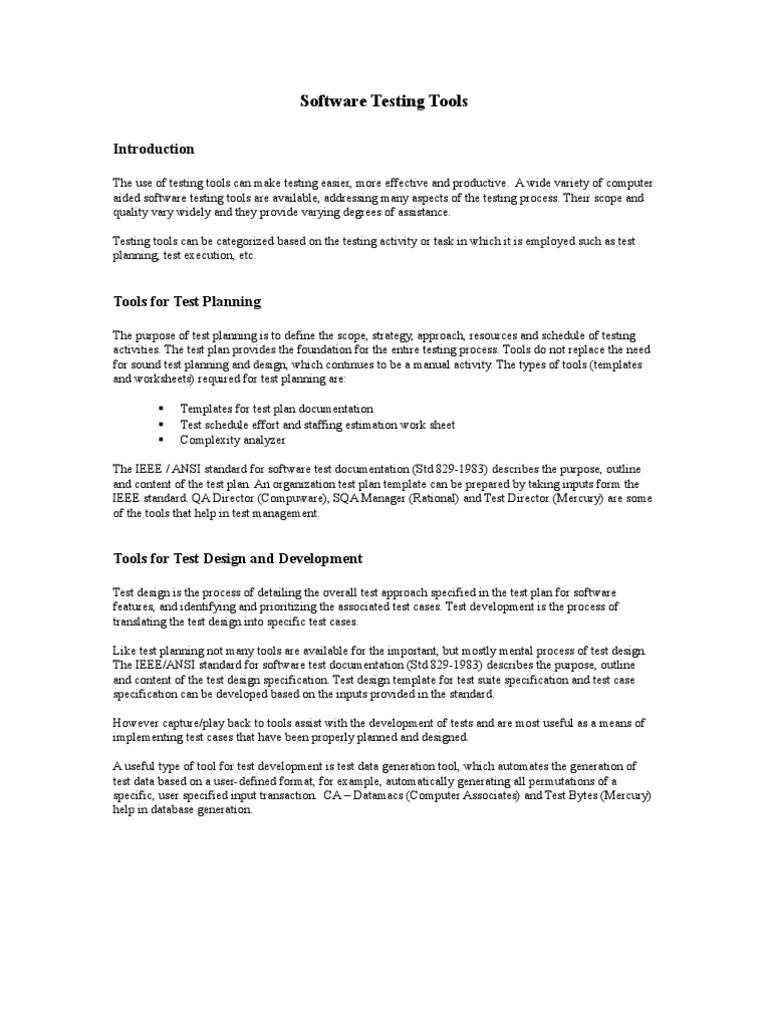 Wunderbar Testplan Vorlage Ieee Fotos - Entry Level Resume Vorlagen ...