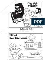 TBT Blind us Coloring Book