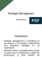 Strategic Management Ppt (Complete U-1)