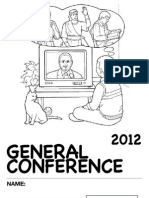 2012 General Conference Packet for Nursery
