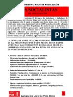 Boletin PSOE