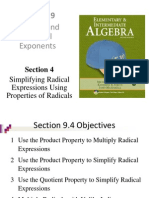 Seia2e_0904 Simplifying Radical Expressions Using Properties of Radicals