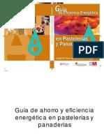 Guia de Ahorro y Eficiencia Energetic A en Pastelerias y Panaderias