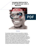 Los conceptos básicos de la sociedad 10ª edición por John J Macionis - 5 estrellas reseña del libro