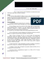 Comunicato N 24 Riunione Unindustria Del 20 Marzo 2012