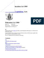 Education Act 1989