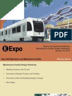 Expo Line maintenance facility