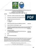 Joint Board Meeting July 13, 2011 Agenda Packet