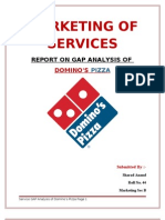 Gap Analysis-Dominos