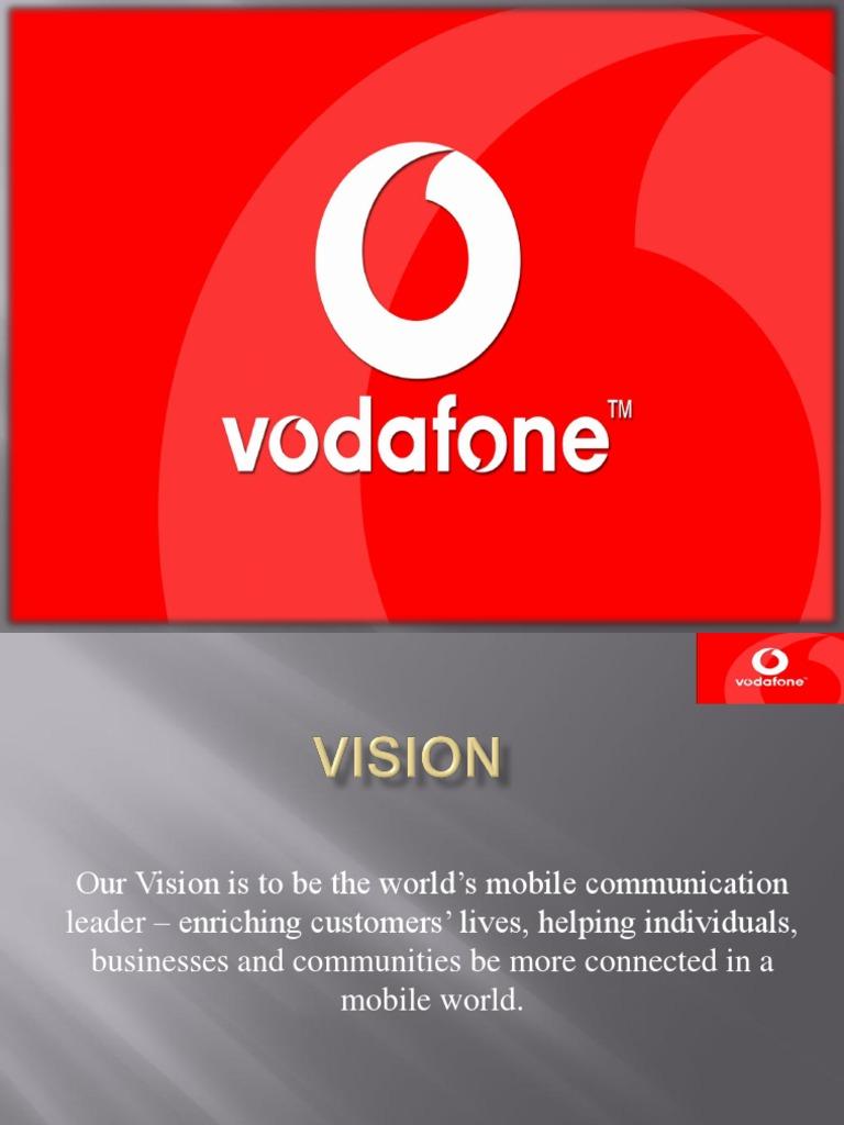 Vodafone Ppt | Telecommunications | Marketing
