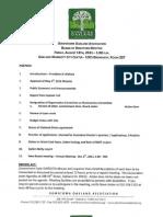 DOA Board Meeting August 19, 2011 Agenda Packet