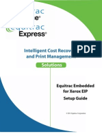 Equitrac Embedded for Xerox EIP
