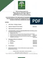 DOA Board Meeting October 5, 2011 Agenda Packet