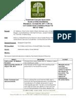 DOA Board Meeting October 5, 2011 Minutes