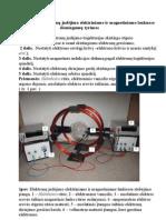 31 Elektronų judėjimo elektriniame ir magnetiniame laukuose (P)
