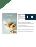 Cookies de chocolate y coco