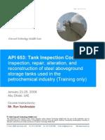 API 653 Howard Training Course Page 1-200