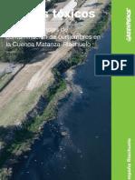 Nuevas evidencias de contaminación de curtiembres en la cuenca Matanza-Riachuelo