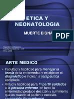 etica y neonatologia