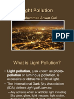 Light Pollution according to Health, Safety & Environment