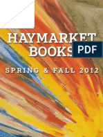 Haymarket Book's Spring and Fall 2012 Catalog