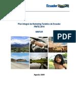 PIMTE 2014 Turismo Internacional