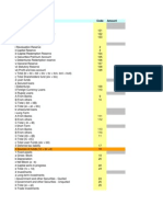 Balance Sheet Format for Companies